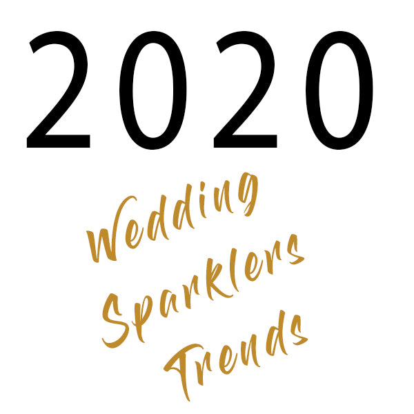 Wedding Sparklers Trends