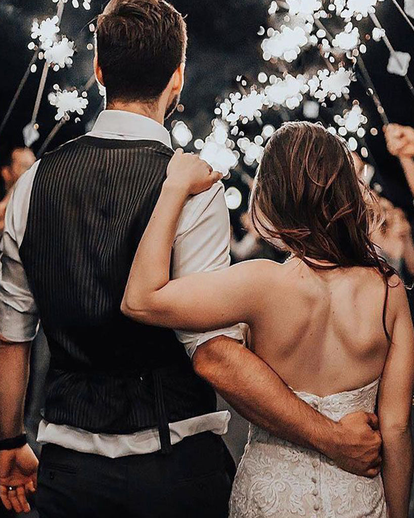 Ways to Use Wedding Sparklers