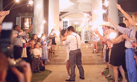 Alabama Wedding Sparkler Laws