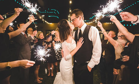 Arizona Wedding Sparkler Laws - Grand Wedding Exit