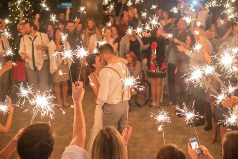 Using Sparklers For Weddings