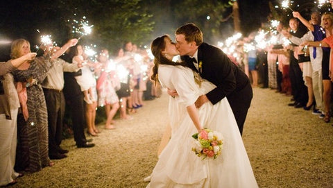 Best Way To End Wedding With Sparklers
