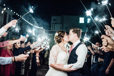 Sparkler Wedding Hashtags