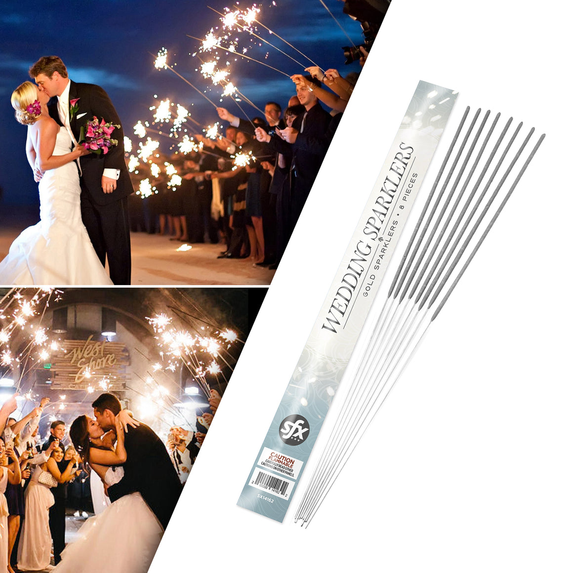 36 Inch Wedding Sparkler Exit