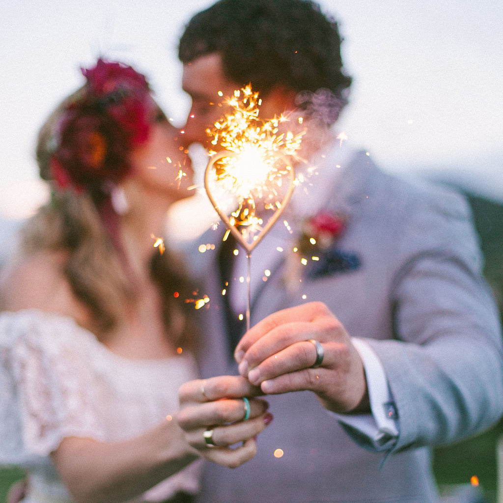 Heart Shaped Sparkler