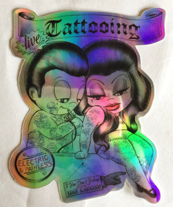 Tattooing Sticker