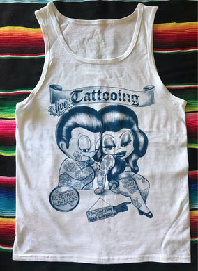 Mens Live Tattooing Tank