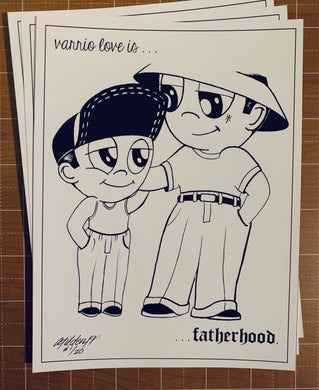 Fatherhood Limited Print