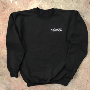 Oh Lord Crewneck Sweater