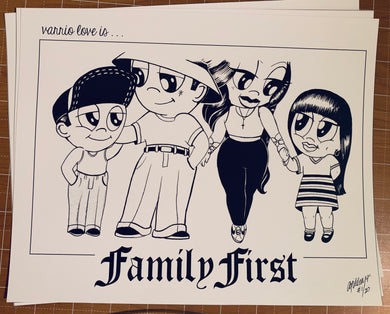 Family First Limited Print