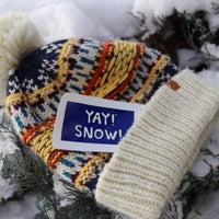YAY! SNOW! – by Allie
