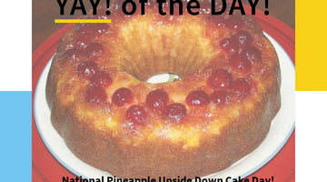 YAY! Pineapple Upside down Cake!