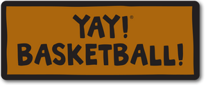 YAY! BASKETBALL! magnet