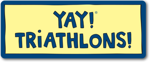 YAY! TRiATHLONS! Magnet