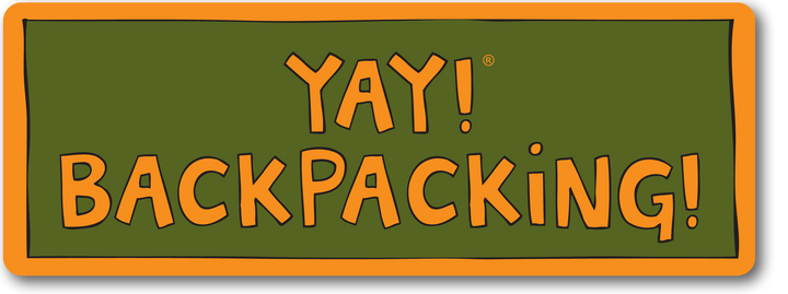YAY! BACKPACKING! magnet