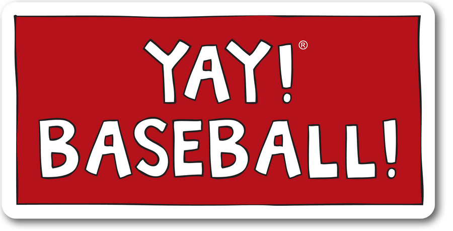 YAY! BASEBALL! magnet