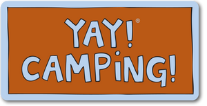 YAY! CAMPING! Sticker