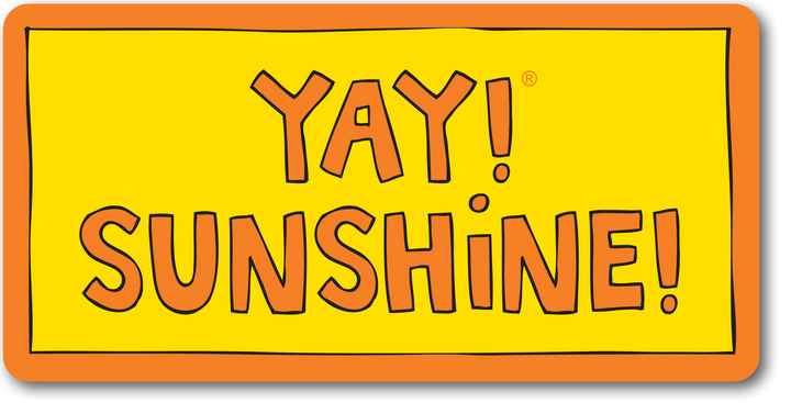 YAY! SUNSHINE! Sticker