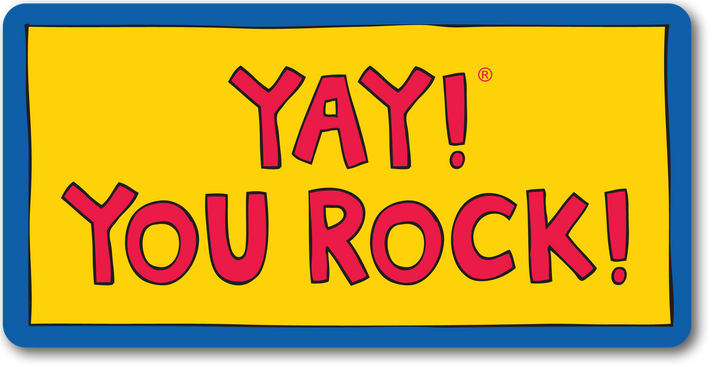 YAY! YOU ROCK! magnet