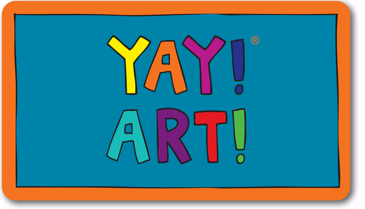 YAY! ART! magnet