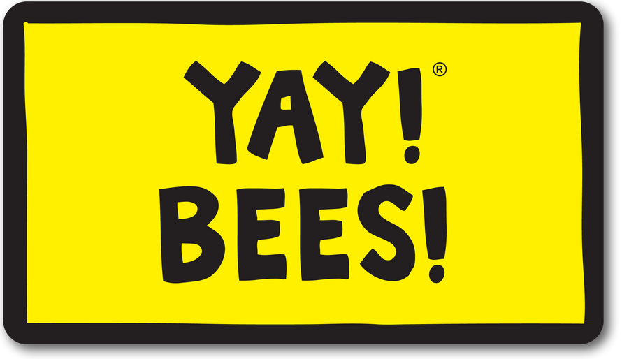 YAY! BEES! magnet