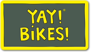 YAY! BIKES! magnet