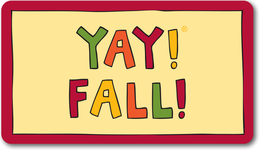 YAY! FALL! magnet