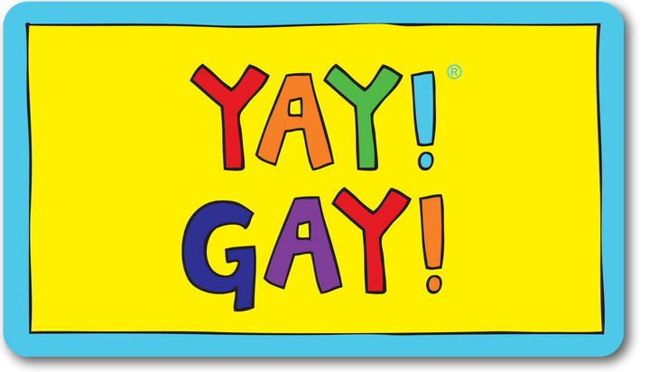 YAY! GAY! magnet