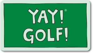 YAY! GOLF! Magnet