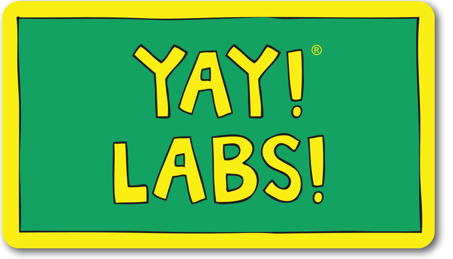 YAY! LABS! magnet