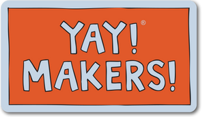 YAY! MAKERS! Magnet