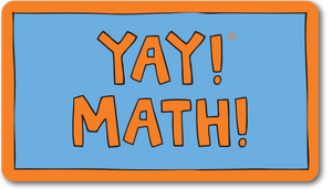 YAY! MATH! magnet