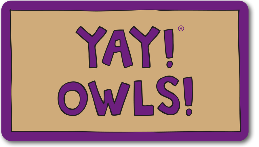 YAY! OWLS! Magnet