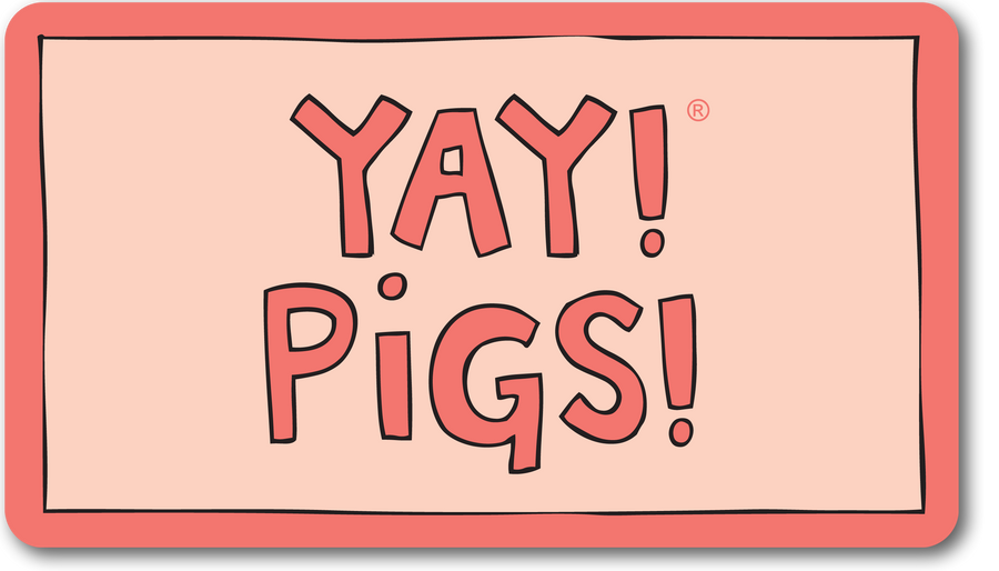 YAY! PIGS! magnet