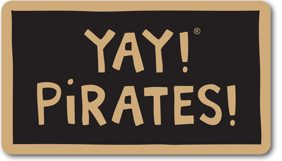 YAY! PIRATES! magnet