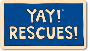 YAY! RESCUES! magnet