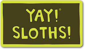 YAY! SLOTHS! magnet