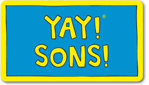 YAY! SONS! magnet
