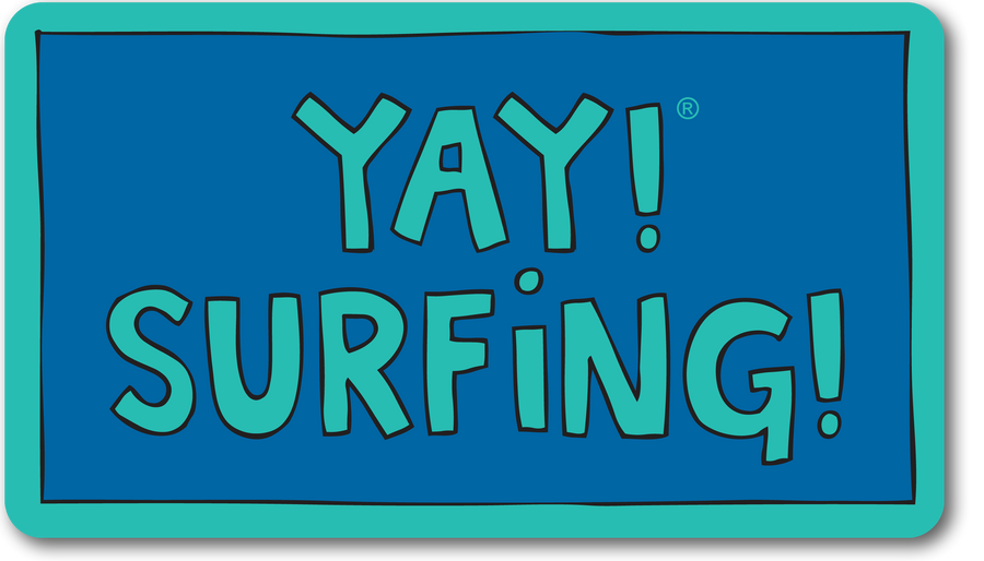 YAY! SURFING! magnet