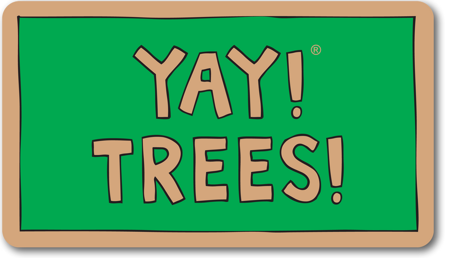 YAY! TREES! magnet