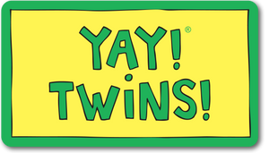 YAY! TWINS! magnet