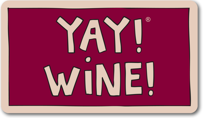 YAY! WINE! magnet