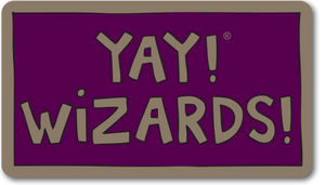 YAY! WIZARDS! magnet