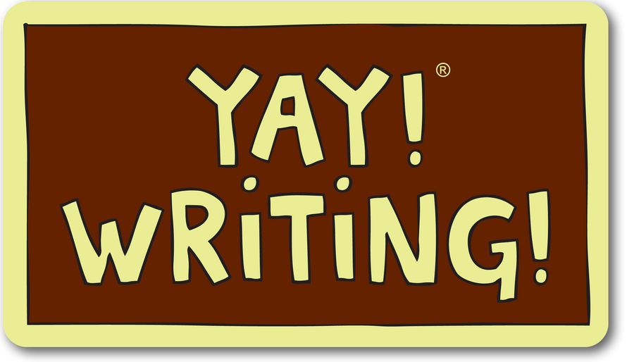 YAY! WRITING! magnet