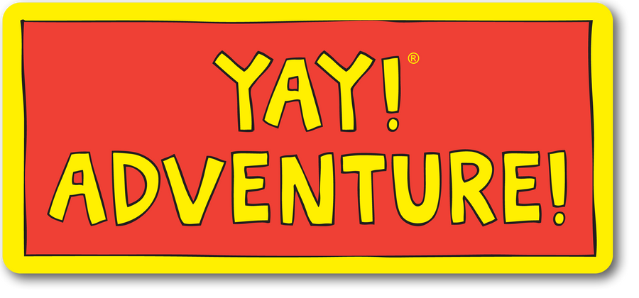 YAY! ADVENTURE! Sticker