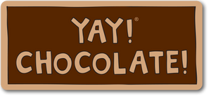 YAY! CHOCOLATE! magnet