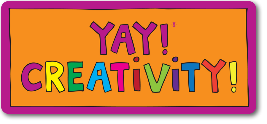 YAY! CREATIVITY! Magnet