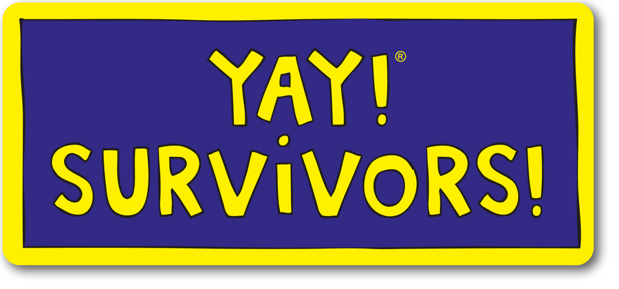YAY! SURVIVORS! magnet