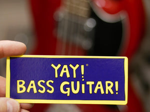 YAY! BASS GUITAR! Magnet