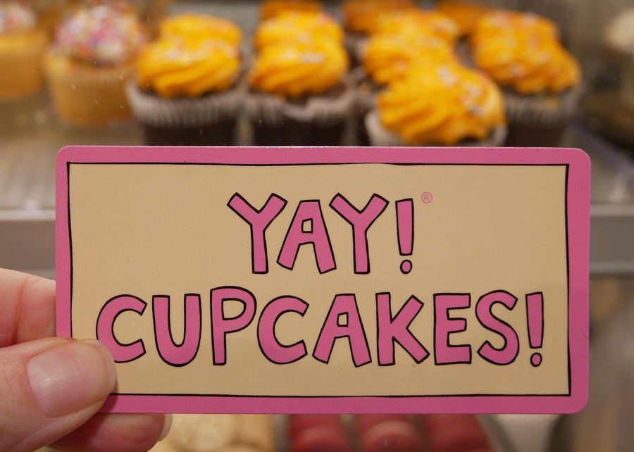 YAY! CUPCAKES! magnet